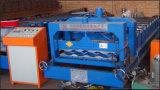 Der 828 Farben-Stahl glasierte die Fliese-Rolle, die Maschine bildet