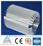Aluminio sacado según gráficos del cliente