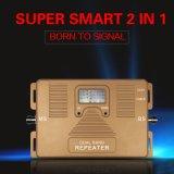 850/2100MHz double bande 2G+3G Téléphone cellulaire GSM 3G Signal Booster répéteur