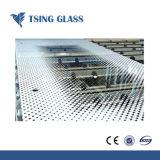 De serigrafie drukte Aangemaakt Glas met Aangepast Ontwerp af