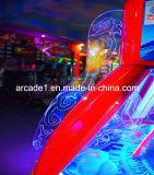 機械を押す販売のゲーム・マシンの硬貨の補助機関車の硬貨のための熱い販売の幻影の車輪機械