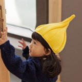 Venda por grosso de Promoção de acrílico Beanie personalizado para crianças