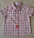 소매 (HY1006)가 최신 작풍 소년 셔츠에 의하여 누전한다