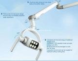 歯科口頭軽いアームを搭載するランプの操作ランプ6 LEDのレンズによって天井取付けられるタイプ