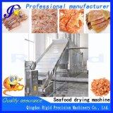Continua de fruta comida industrial equipos de secado de Mariscos Vegetales