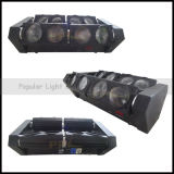 Endloses Rotation Four Independent Heads 8X10W LED Spider Light