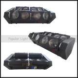 無限のRotation Four Independent Heads 8X10W LED Spider Light
