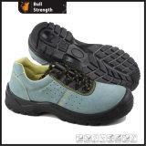 Chaussure de sûreté inférieure de cuir de suède de coupure avec l'injection d'unité centrale (SN5301)