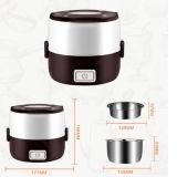 Caixa de almoço elétrica cozinhando e de aquecimento, mini fogão elétrico Multifunction de aquecimento elétrico para cozinhar com arroz