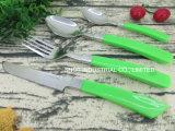 Fournisseur de Guangzhou en acier inoxydable de haute qualité Ensemble de couteaux