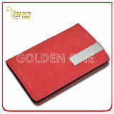 Promoção Gift Novelty Design PU Leather Business Card Case