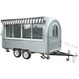 普及した多機能の電気小型オートバイの移動式ホットドッグのアイスクリームのトラック