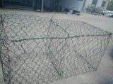 電流を通されるGabion六角形の金網、ボックスまたはPVC Cotaed