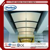 Wideleは商業音響バッフルの天井で使用した