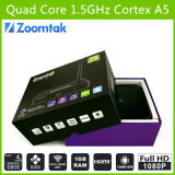 最もよいQuad Core TV Box T5 Amlogics805 Quad Core Support 3D 1080P HD Sex Pron TV Box