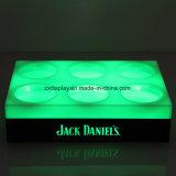 Tablette porte-bouteille LED Bar / Bar Bouteille de vin Stand / LED Bouteille de vin de présentoir acrylique