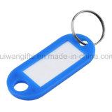 Venda por grosso Keyring etiqueta para o Nome, ID Tag Keyring