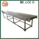 Transferência de alimentar a máquina do transportador de correia de aço inoxidável de PVC