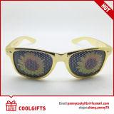 Lunettes de soleil de collant de trou d'épingle d'usager avec le logo personnalisé pour le cadeau de Noël