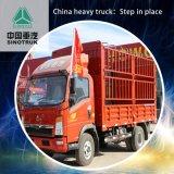 販売に使用するダンプトラックHOWOの大型トラック170HP