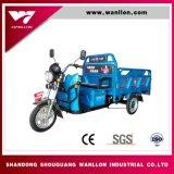 Venta caliente popular camión de carga eléctrica de tres ruedas para la granja