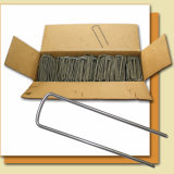 Het metaal galvaniseerde (zinced) Spijkers voor Plastic Pennen