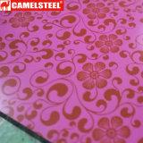 La flora di PPGI ha stampato lo strato d'acciaio della bobina per la decorazione domestica
