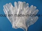 Nahrungsmittelgrad-transparente Vinylhandschuhe