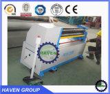 Máquina de rolamento de dobra assimétrica do rolo do padrão 3 da alta qualidade W11F-3X1300