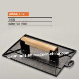 I-15 строительство декор краски оборудование ручные инструменты деревянные резиновые Trowel плавающего режима с квадратной формы
