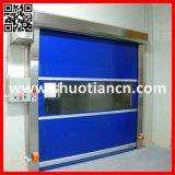 Высокоскоростная быстрая дверь завальцовки/высокоскоростной автоматический строб штарки ролика (ST-001)