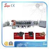 Xz0056 TPU, Gummi, Polyurethan-Schuh-alleinige Spritzen-Maschine, Sicherheits-Schuh-Maschine