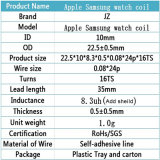 Het Laden van het Horloge van de appel de Rol van de Antenne van de Rol