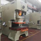 Jh21 máquina aluída da imprensa de perfurador mecânico do frame da série C única com potência 25 toneladas