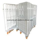 Клетка контейнера крена Кореи исчисление порошка/крена/тележка руки/контейнер вагонетки руки/крена хранения