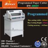 Größen-Buch-Rand-Ausschnitt-Maschinen-elektrische Digital-Programm-Steuerpapierschneidemaschine des Boway Cer-460mm A3 A4