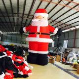De openlucht Opblaasbare Kerstman