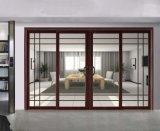 Раздвижные двери алюминия пролома горячей конструкции термально