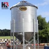 Завершить производство сельскохозяйственных кормов для производственной линии в бункере для продажи
