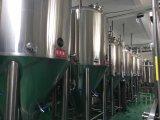 Tanque de mistura Jacketed sanitário do aquecimento de vapor do aço inoxidável