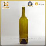 مستديرة [750مل] [رد وين غلسّ] شراب زجاجة (1021)