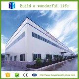 Structure en acier de haute élévation de la construction de l'atelier d'usine la conception des bâtiments