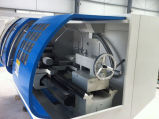 Fanuc 관제사 CNC는 절단 도구 Ck6150A에 의하여 사용된 기계장치를 선반으로 깎는다