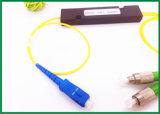 Koppler-Sc FC des einzelner Modus-Faser-Koppler-einzelnes Fenster-1310nm 1X2 Fbt