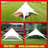 Événement extérieur tissu PVC transparent de la canopée Starshade tente avec la paroi latérale