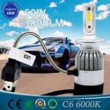 最も新しいデザインハイライトのコンデンサーH4 4800lm車LEDのヘッドライト50Wの自動車ランプ