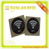 El rollo de papel más barato chip NFC NFC 13,56 MHz para imprimir la etiqueta engomada para el teléfono móvil