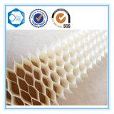 Âme en nid d'abeilles de papier ignifuge