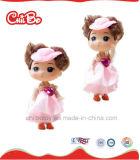 Poupées en plastique de beau d'enfants de qualité rose de jouet, assez