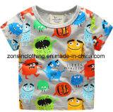 Vestiti variopinti dei bambini della maglietta del manicotto di Short di estate dei ragazzi